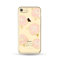 Чехол с Swarovski Kingxbar Flower Sea для iPhone 8/7  Peony